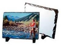 Фотокамень для сублимации (рамка каменная )  150 на 200 мм