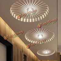LED 3w белый/теплый белый алюминиевый потолочный светильник коридор балкон кулон светильник лампа люстра