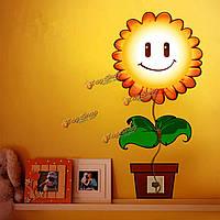 Светильник-ночник для детской комнаты Подсолнечник 3d