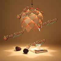 На верхних этажах старинных творческий деревянный подвесной светильник поделки потолок подвесной светильник для ресторана гостиной