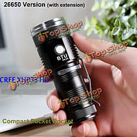 BTU PK26 CREE xhp35 HD 20Вт 2000lumens Mini NW карман LED фонарик