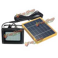Солнечный приведенный в действие 54 LED датчик наводнений света водонепроницаемый напольный светильник безопасности
