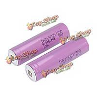 Верхняя батарея 2pcs Samsung 3000mAh inr18650-30q незащищенными кнопка 18650