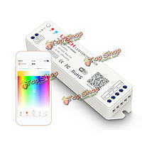 Мини-WiFi RGBW приложение 2.4G LED беспроводной контроллер синхронизации для полосы света DC12-24V