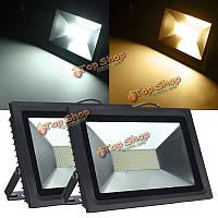 100Вт 2835 LED SMD наводнений света прожектор лампа водонепроницаемый ac180-240В 8800-9500lm