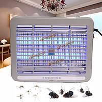 220В 1w LED Свет электронный крытый комаров насекомых убийца ошибка летать ZAPPER US подключить