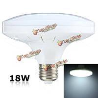 E27 18w 36 SMD 5730 LED холодный белый блюдце шар света колбы лампы AC220В