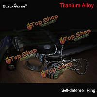 Blackwater T0мCAT титановый сплав + сталь вольфрама самооборона кольцо с тритием