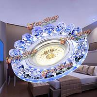 Современный 3w початок LED даунлайт кристалл потолочный светильник декора в помещении гостиной спальня