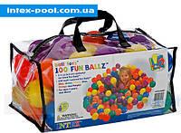 Набор мячей для сухого детского бассейна Intex 49602
