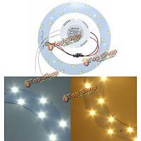 12w 5730 SMD 12w LED Панель круг Кольцевая плафоны доска