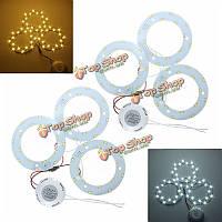 24w 5730 SMD LED три панели окружности кольцевой плафоны платы лампы
