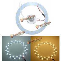 15w 5730 SMD LED Панель круг Кольцевая плафоны доска лампа