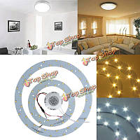 23w 5730 SMD LED двойной круг панель кольцевая плафоны доска лампа