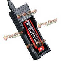Klarus K1 USB LCD  дисплей смарт-зарядное устройство для литий-ионный/Ni-Cd/Ni-MH батареи