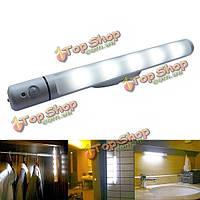 PIR движения и датчик света LED поворотный индикатор батареи питания лампы для кабинета шкаф шкаф для одежды