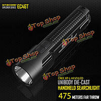 Nitecore EC4GT CREE 1000lm цельным литая LED фонарик 475m V3 XPL привет