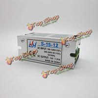 AC100-240В к DC12V 1.25A 15w Mini LED переключение драйвера питания трансформатор для освещения адаптер