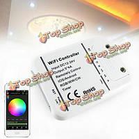 ARILUX™ AL-LC06 LED Wi-Fi смартфон контроллер Romote 5 каналов DC12-24V для rgbww полосы света