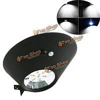 2w 7 LED беспроводной солнечный датчик движения настенный светильник водонепроницаемый напольный светильник сада