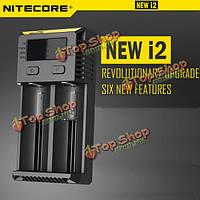 Nitecore intellicharger новый i2 зарядное устройство для литий-ионных/IMR/LiFePO4/Ni-MH батареи