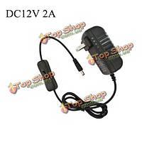 24w DC12V 2a Трансформатор питания адаптер питания для LED полосы света с вкл/выкл