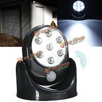 LED Движение активируется беспроводной датчик ночного освещения для внутреннего наружного безопасности