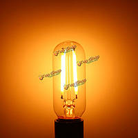 E14 e12 T25 2W теплый белый початок LED трубчатая ретро Edison лампа накаливания AC110В/220В