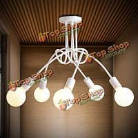 E27 корейское творческое освещение искусства минималистский гостиной спальня кулон AC110-240В светильник