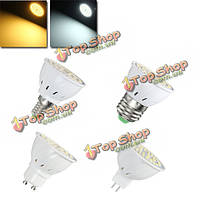 E27 E14 GU10 MR16 4W 54 SMD 2835 LED теплый белый Clear белый спот освещение лампа AC110В/220В