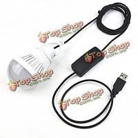 5w USB LED Лампочка для кемпинга Рыбалка открытом воздухе чрезвычайную ситуацию