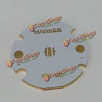 Manker 28мм медь MCPCB XPL XPe XPG прямой термопечати путь печатной платы