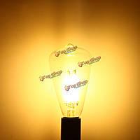 E14 4W kingso початка Edison лампа античный лампа ретро старинные свет 220В