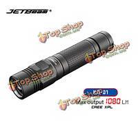JetBeam k0-01 Cree XPL 1080lumens USB перезаряжаемые EDC LED фонарик