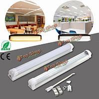 T8 30см 10Вт SMD 2835 LED теплый холодный белый люминесцентная лампа свет лампы бар ac175-265V