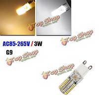G9 силикагель 3w 64 LED 3014 SMD тепло/чистый новый белый свет лампы лампы переменного тока 85-265В