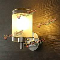 Современный простой стеклянный одноголовочный настенный светильник бра светильник для внутреннего освещения тротуара