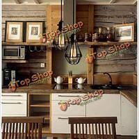 Творческий потолочный светильник промышленный утюг марочные люстра кухня магазин балкон подвесной светильник