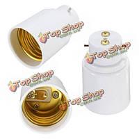 B22 для e27 винт гнездо LED галогенные лампочки лампа держатель адаптер конвертер