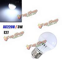 E27 3w 10 SMD 5730 LED датчик движения LED звук шар лампочка + свет автоматический контроль умный AC220В лампа