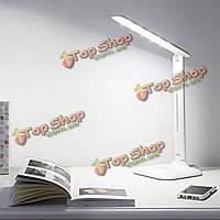 4w LED трогайте диммирования вращающийся складную чтение таблицы свет для офиса дома общежития
