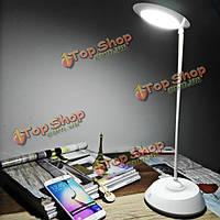 Современный поворот на 360 градусов LED сенсорный светильник таблицы управления USB перезаряжаемые свет ночи