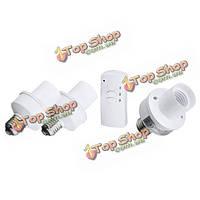 E27 винт беспроводной пульт дистанционного управления свет лампы выключатель лампы держатель крышка гнезда