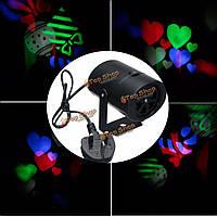 4rgb 3w две модели LED логотип лазерный свет этапа проектор для диско-бар Xmas партии клуба