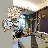 Современный кристалл e14 LED настенный светильник для внутренних помещений для спальни украшения прикроватная лестничную