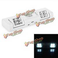 8 LED лампы движения датчик PIR для шкафа шкаф шкаф шкаф