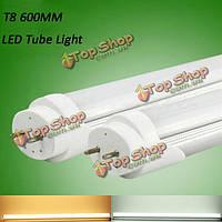 T8 600мм 9W AC 180-265V LED трубка свет жесткая полоса 48 SMD 2835 белый/теплый белый люминесцентные лампы
