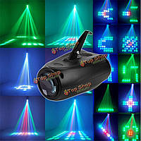 10Вт 64 LED RGBW f5mn этап света кристалл Xmas клуб DJ Party диско лазерного света лампы