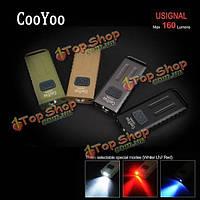 Cooyoo usignal хр-g2 160LM USB многофункциональный Mini LED брелок для ключей