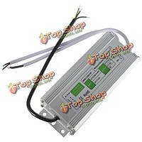 80Вт водонепроницаемый IP67 LED драйвер трансформатор питания AC110В-260В для DC12V
